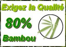 chaussette 80% fibre de bambou bio et ecologique