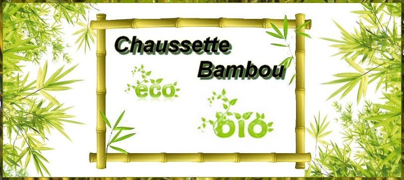 chaussette bambou ecologique bio